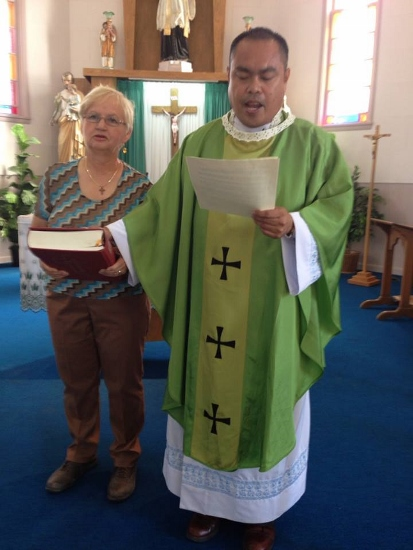 Father Juan becomes Pastor of St. Francois Xavier